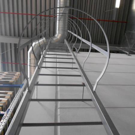 Escalier De Secour Métal