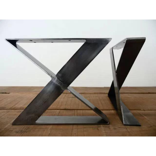 Pied Acier Table Industriel