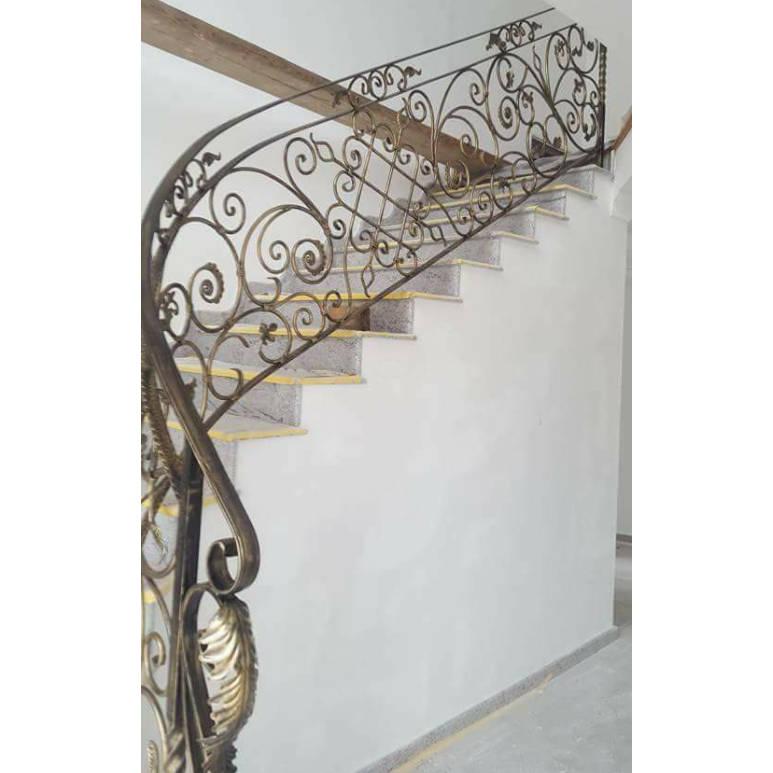 Rampes D'Escalier En Fer Forgé