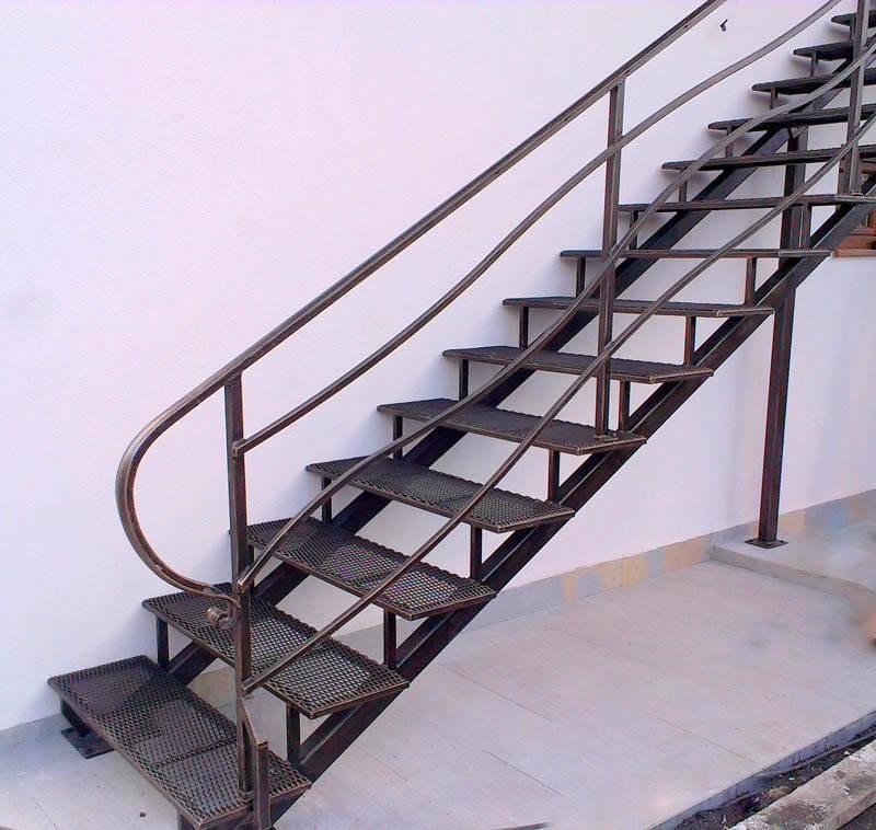 Escalier Et Balustrade En Acier