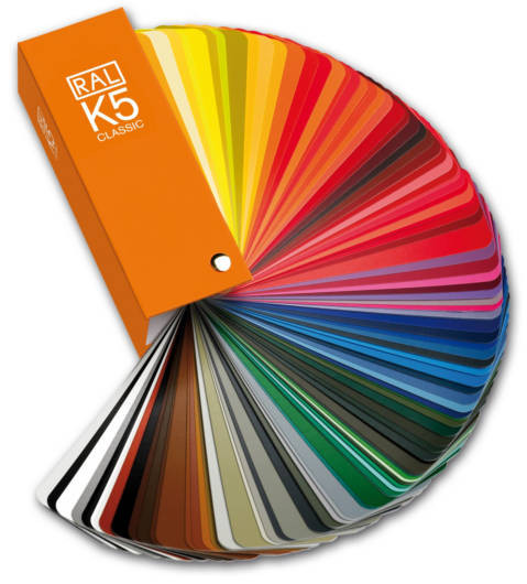 Exemples couleurs RAL