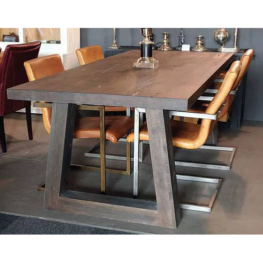 Table Jambes Acier Epais