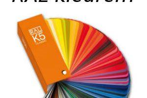 Wat zijn RAL kleuren?