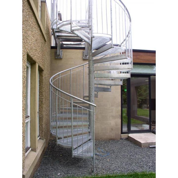 Escalier Secours Hélicoïdal Sur Mesure