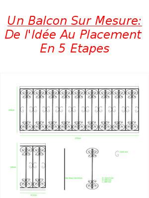Un Balcon Sur Mesure: De l'Idée Au Placement En 5 Etapes